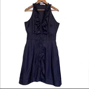 7 For All Mankind Ruffles Button Down Sleeveless